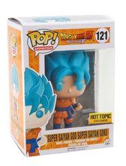 Dragon Ball Z Super Saiyan God Goku Hot Topic Exclusive Pop Vinyl Figure