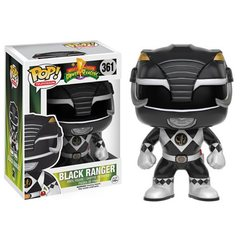 Power Rangers Black Ranger Pop! Vinyl Figure