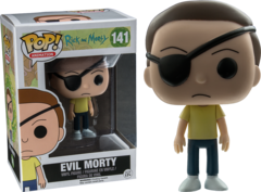Rick and Morty Evil Morty Pop Vinyl Figure 141