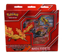 Legendary Battle Decks: Moltres-EX Theme Deck