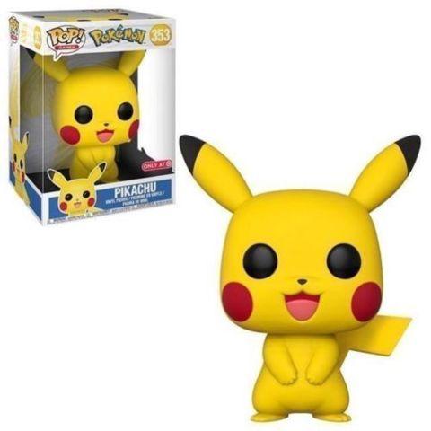 Pokemon 10 Pikachu Target Exclusive Pop Vinyl Figure