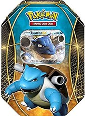 Pokemon Blastoise EX Tin