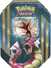 Pokemon Gyarados EX Tin