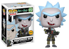 Rick and Morty Chase Weaponized Rick Pop! Vinyl Figure