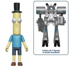 Rick and Morty Mr. Poopy Butthole 5-Inch Action Figure