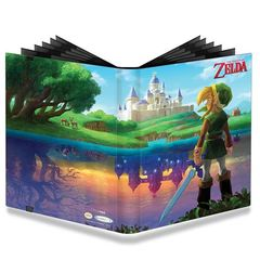 UltraPro 9 Pocket PRO-Binder - The Legend of Zelda - A Link Between Worlds