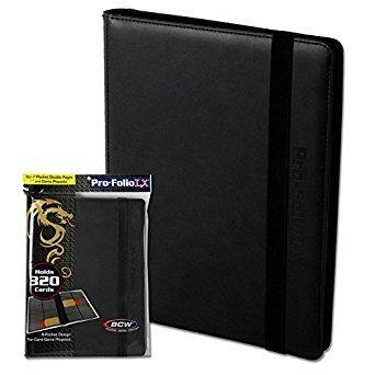 BCW Gaming Pro-Folio 9-Pocket Lx Album - Black