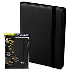 BCW Gaming Pro-Folio 9-Pocket Lx Album - Black