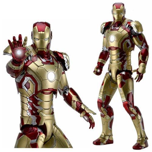 Iron Man 3 Mark 42 Armor 1:4 Scale Action Figure