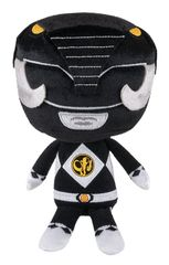 ower Rangers Mighty Morphin Hero Plushies 8 inch Stuffed Figure - Black Ranger