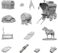 Nolzur's Marvelous Unpainted Miniatures: Adventurer's Campsite