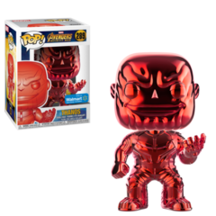 Marvel Red Chrome Thanos Walmart Exclusive Pop Vinyl Figure