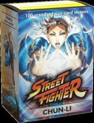 Dragon Shield Street Fighter Chun-Li Deck Protectors 100ct Standard Size