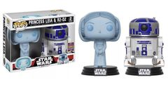 Star Wars Leia & R2-D2 Summer 2017 Exclusive Pop Vinyl 2-Pack