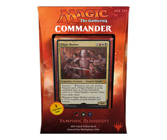 Commander 2017 Deck - Vampiric Bloodlust (Red/White/Black)
