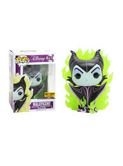 Disney Villains Maleficent CHASE Green Flames Hot Topic Exclusive Pop Vinyl Figure