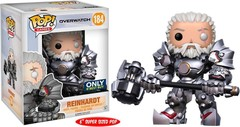 Overwatch Unmasked Reinhardt Best Buy Exclusive 6-Inch Pop! Vinyl Figure