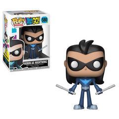 Teen Titans Go Robin as Nightwing Pop Vinyl Figure