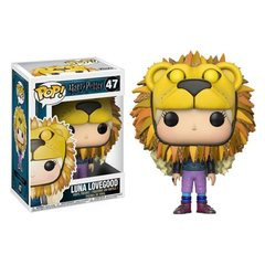 Harry Potter Luna Lovegood Lion Head Pop! Vinyl Figure
