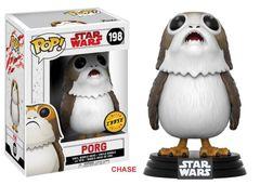 Star Wars The Last Jedi Chase Porg Pop Vinyl Figure