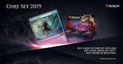 Magic 2019 Booster Box w/ Foil Nexus of Fate Promo M19