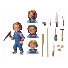 NECA Child's Play Ultimate Chucky 7-Inch Scale Action Figure