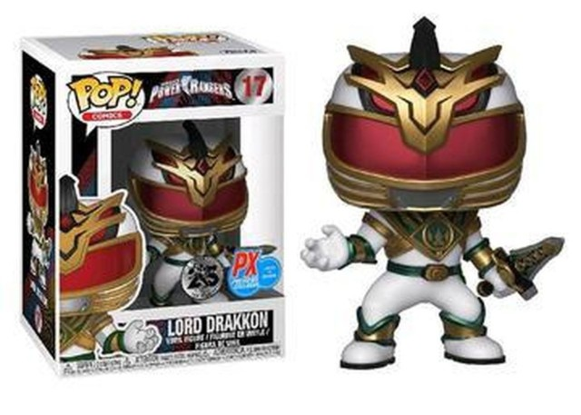 Power Rangers Lord Drakkon PX Previews Exclusive Pop! Vinyl Figure