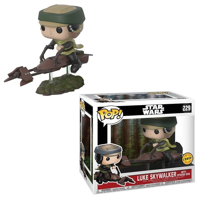 Star Wars Luke Skywalker Speeder Chase Pop Vinyl Figure