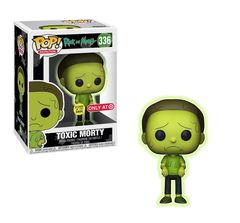 Rick and Morty Toxic Morty Target Exclusive Pop Vinyl Figure