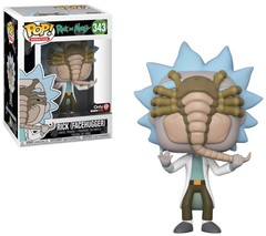 Rick and Morty Facehugger Rick GameStop Exclusive Pop Vinyl Figure