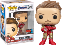 Avengers Endgame: Iron Man with Guantlet Fall Convention Exclusive Pop! Vinyl Figure