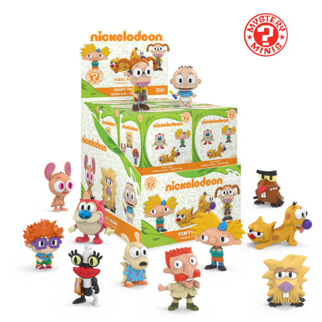 Nickelodeon Mystery Mini Vinyl Figure