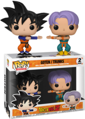 Dragon Ball Z - Goten/Trunks 2 pack Exclusive Pop Vinyl Figure