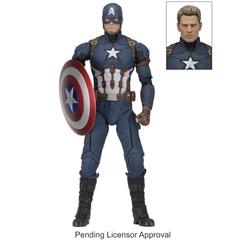 NECA Captain America Civil War Captain America !/4 Scale Figure