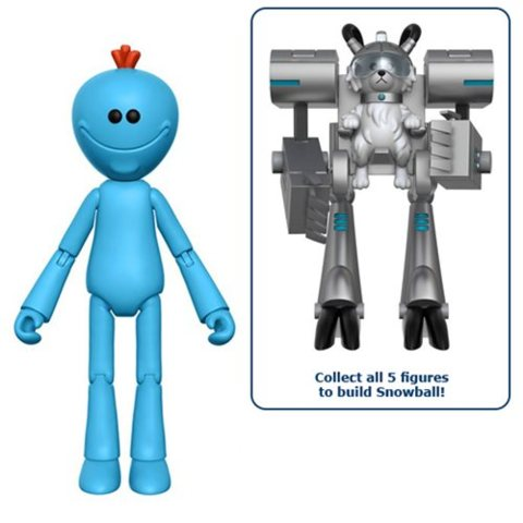 Rick and Morty Mr. Meeseeks 5-Inch Action Figure
