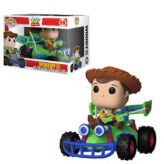 Toy Story Woody and RC Pop! Vinyl Vehicle #56