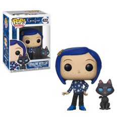 Coraline Coraline with Cat Buddy Pop! Vinyl Figure