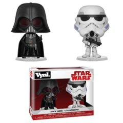 Star Wars Darth Vader and Stormtrooper Funko VYNL 2-Pack