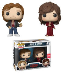 Stranger Things Billy & Karen 2 Pack Summer Convention Exclusive Pop! Vinyl Figure