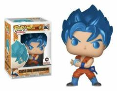 Dragon Ball Super Metallic SSGSS Goku (Kamehameha) Chalice Exclusive Pop Vinyl Figure