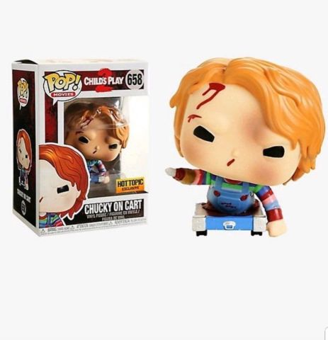 Childs Play 2 Chucky on Cart Hot Topic Exclusive Pop Vinyl Figure