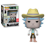Rick and Morty Western Rick Summer Convention Exclusive Pop! Vinyl Figure