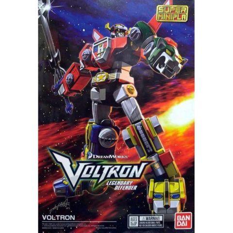Voltron Bandai Super Mini-Pla Model Kit