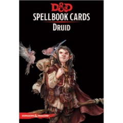 Dungeons & Dragons 5th Edition RPG: Spellbook Cards - Druid