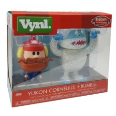FUNKO Rudolph Bumble and Yukon Cornelius VYNL Figure 2-Pack