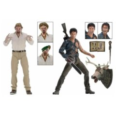 NECA Evil Dead 2 30th Anniversary Hero Ash and Evil Ed Action Figure 2-Pack