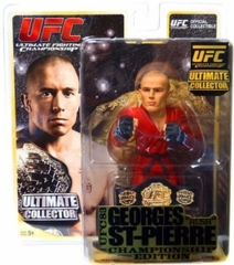UFC Georges Rush St. Pierre Championship Edition Ultimate Collector Series 8 Figure