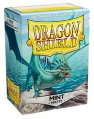 Dragon Shield Sleeves Matte Mint Standard Size 100CT