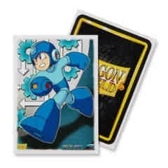 Dragon Shield Mega Man Art Deck Protectors 100ct Standard Size