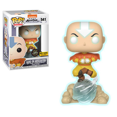 Avatar Aang on Airscooter Chase Exclusive Pop! Vinyl Figure